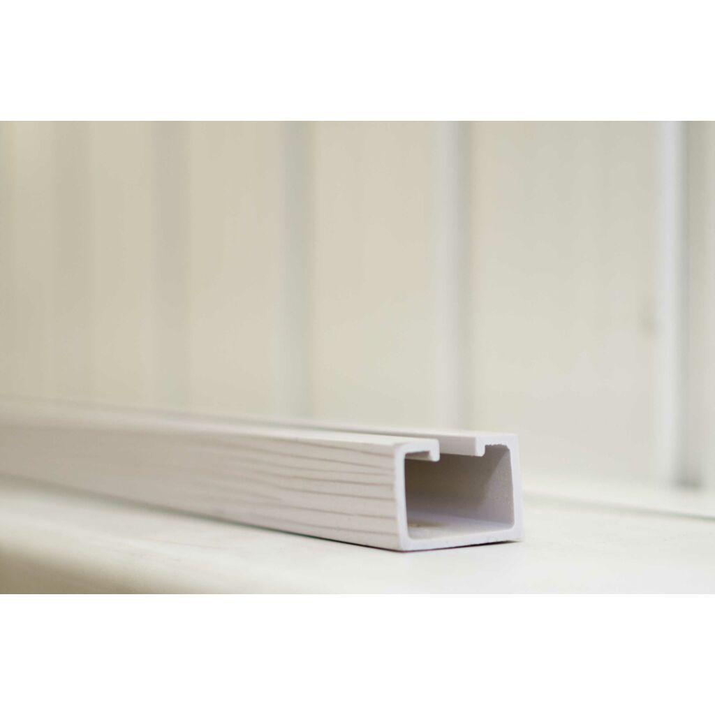 Ideal harmonikaajtó sín 150 cm Fehérkőris