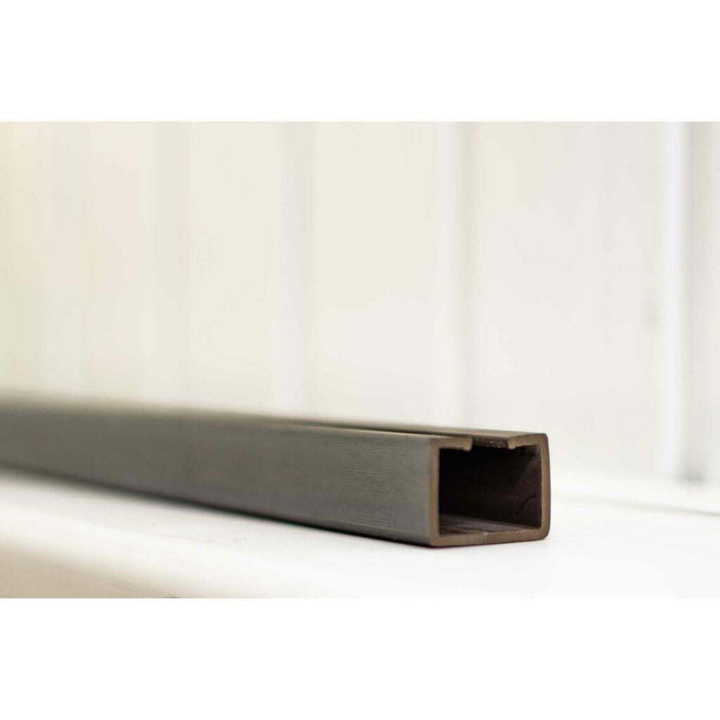 Ideal harmonikaajtó sín 150 cm Wenge