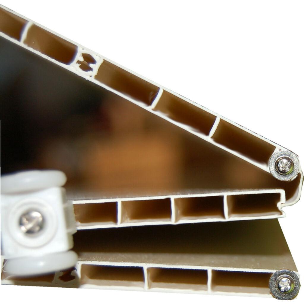 Ideal üveges harmonikaajtó fehérkőris