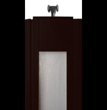 Ideal harmónikaajtó panel üveges wenge DGD
