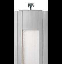Ideal harmonikaajtó panel üveges fehérkőris DGD
